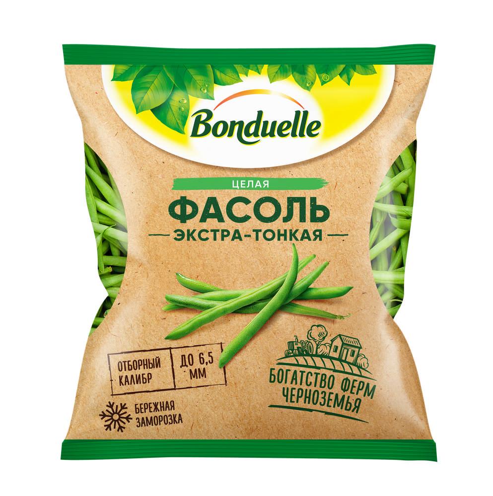 Фасоль стручковая Bonduelle зеленая целая экстра-тонкая, 400 г